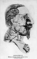 7457 - Illustration Arcimboldesque Napoléon III, Estampe Satirique Anonyme Du Second Empire, Cayenne, Mexico, Italie... - Satiriques