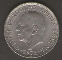SVEZIA 5 KR 1972 - Svezia