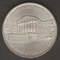 UNGHERIA 10 FORINT 1956 AG SILVER - Ungheria