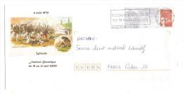 PRET A POSTER LUQUET 6 AOUT 1870 WOERTH FESTIVAL HISTORIQUE DU 18 AU 21 MAI 2000 - Prêts-à-poster:Overprinting/Luquet