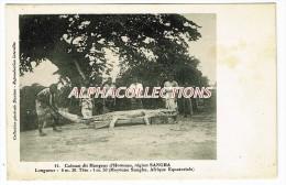 CONGO - REGION SANGHA. CAIMAN MANGEUR D'HOMMES. - Congo Francés - Otros