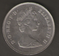 GRAN BRETAGNA 25 NEW PENCE 1981 - 1971-… : Monete Decimali