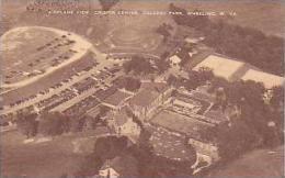 West Virginia Wheeling Airplane View Crispin Center Oglebay Park