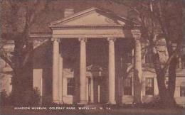 West Virginia Wheeling Mansion Museum Oglebay Park Artvue