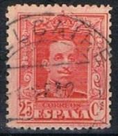 Sello 25 Cts Alfonso XIII Vaquer, Fechador BELLCAIRE (Lerida), Num 317 º - 1889-1931 Reino: Alfonso XIII