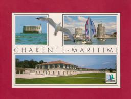 CPM    Charente-Maritime.  Fort Boyard - Port De La Rochelle - Corderie Royale - France