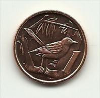 2008 - Cayman Island 1 Cent, - Cayman (Isole)