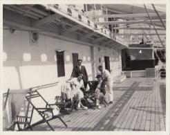 Photo Ancienne Paquebot L´asie Pont - Boats