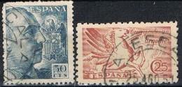 Sellos 50 Cts Caudillo Y Urgente, Fechador LA ESCALA (Gerona), Num  952 - 1053 º - 1931-Hoy: 2ª República - ... Juan Carlos I