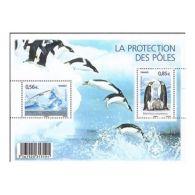 France Feuillet N°4350 Protection Des Zones Polaires Et Des Glaciers - Blocs & Feuillets