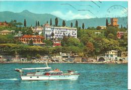 Santa Margherita Ligure (Genova, Liguria) Veduta Dal Mare, Yacht (Barca Da Diporto) E Hotel Imperiale - Genova (Genoa)