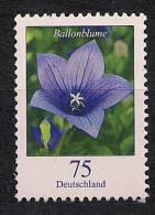 2011 Allem. Fed. Mi.  2835 **MNH Mit Nr. 135   Ballonblume (Platycodon Grandiflorus) - BRD