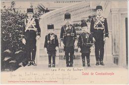 26319g CONSTANTINOPLE - Les Flils Du Sultan - Ludwigsohn Frères Editeur - Turkije