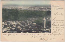 26324g  DAMAS - Village - Panorama - 1902 - Colorisée - Syrië