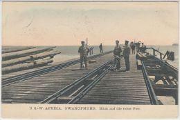 26359g  SWAKOPMUND -  Blick Auf Die Neue Pier - Deutsch-Ost-Afrika - Colorisée - Namibia