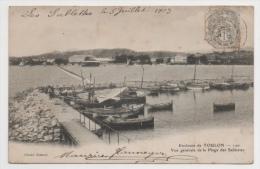 83 VAR - TOULON Environs, Vue Générale De La Plage Des Sablettes - Toulon