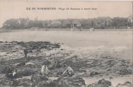 CPA 85. ILE DE NOIRMOUTIER. Plage De Souzeaux à Marée Basse - Ile De Noirmoutier