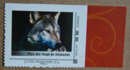 LFV1 Languedoc-Roussillon : Parc Des Loups Du Gévaudan (autocollant / Autoadhésif) - France