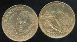 FRANCE = PIECE  DE 10 FRANCS  STENDHAL  DE 1983 - K. 10 Francs
