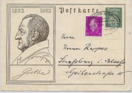 LBL35A- ALLEMAGNE EP CP HANNOVER / STRASBOURG 10/6/1932 - Deutschland