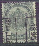 N° 48B  MU   BRUXELLES  1895 - Roller Precancels 1894-99