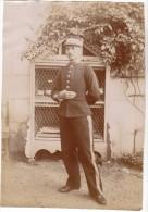 UN GENDARME BELGE - PHOTO 12 X 17 CM - Guerre, Militaire