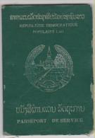 Passeport De Service LAOS 1995 Service Passport - Dienstpass - Historische Documenten