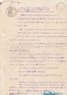 St Hippolyte Du Fort Gard Création Société Bonneterie Gavanon Fils & René Peyron - 1920 - Papier Timbré 1 F - Documents Historiques