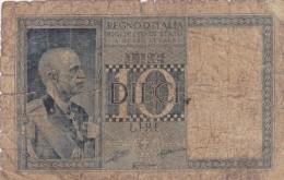 Treasury Biglietti Di Stato  1939 - [ 1] …-1946 : Kingdom