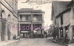 47 -  MIRAMONT - Place De L'Hôtel De Ville - Café Des Colonies - Dos Précurseur - 1904 - 2 Scans - Autres Communes
