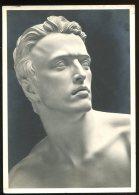 """CPM Non écrite Sculpture D'Arno BREKER Kopf Der """" Berufung """" Détail - Sculpturen"""