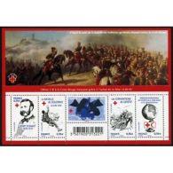 France Feuillet N°4386 150ème Anniversaire De La Croix-Rouge - Blocs & Feuillets