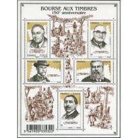 France Feuillet N°4447 150ème Anniversaire De La Bourse Aux Timbres - Blocs & Feuillets