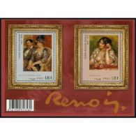France Feuillet N°4406 Pierre-Auguste Renoir, Peintre - Blocs & Feuillets