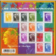 France Feuillet N°4409 Les Couleurs De Marianne - Blocs & Feuillets