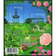 France Feuillet N°4384 Jardins De France. Le Jardin Des Plantes à Paris - Sheetlets