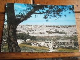 PANORAMA DE GETSEMANI - JERUSALEM - JORDANIE - CPSM ECRITE - Jordanie