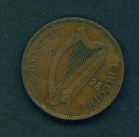 IRELAND  -  1928  1d  Circulated Coin - Irlande