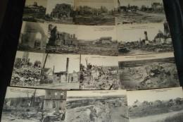 LOT DE 15 CPA FRANCE - GUERRE DE 1914-1918 - MARNE - Cartes Postales