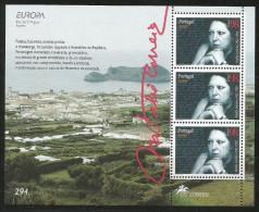 1996, Azoren, 456 C, Block 15,  Europa: Frauen . MNH - Azores