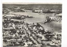 CPSM  Lorient  Vue Aérienne   Kérentrech  Et Le Pont Suspendu - Lorient