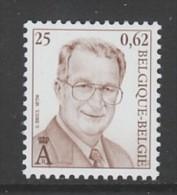 TIMBRE NEUF DE BELGIQUE - SERIE COURANTE 2001 :  ROI ALBERT II N° Y&T 2976 - Koniklijke Families