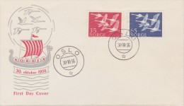 Norway; Nordic Stamps FDC 1956 - FDC