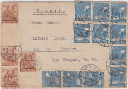 Berlin; Currency Reform Cover To Brazil 1948 - [5] Berlin