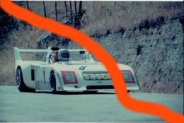 "X 59 TARGA FLORIO 1975 CHEVRON B 26 2,0 (8) - ""AMPHICAR"" EUGENIO RENNA / ARMANDO FLORIDIA  FOTO ORIGINALE 9X13 - Sport"