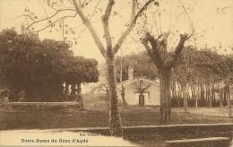 Carte Postale:AGDE (34) :Notre Dame Du Grau D'Agde - Agde