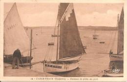 L´ABER-WRACH (29) Bateaux De Pêche Au Port - France