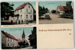 51036646 - NIEDERMÜSBACH - MUESPACH-le-BAS - Gruss Aus... - Wirtschaft Zur Schönen Aussicht - Frankreich