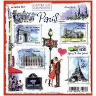 France Feuillet N°4514 Capitales Européennes. Paris - Blocs & Feuillets