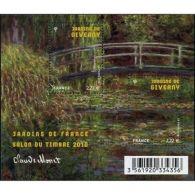 France Feuillet N°4479 Jardins De France. Les Jardins De Giverny (Eure) - Blocs & Feuillets